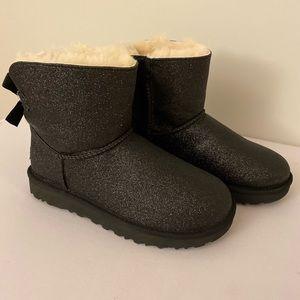 UGG Black Glitter Sparkle Boots size 7